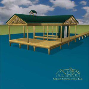 Boat Dock Plans Blueprints Custom Golden Construction Llc